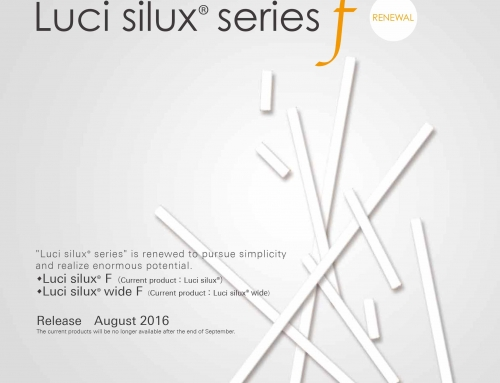 "Release of ""Luci silux® series F"""