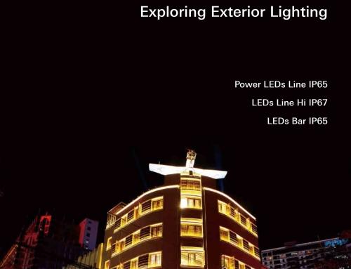 """Release of """"Power LEDs IP65, LEDs Line Hi IP67, LEDs Bar IP65"""""""